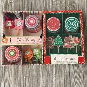 Other - Cupcake liners and picks